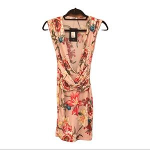 NWT FashionNova Pink Isabelle floral Dress S